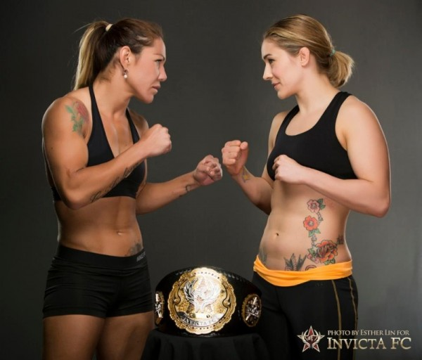 Cris Cyborg takes on Marloes Coenen for the featherweight title in the Invicta FC 6 main event on Friday, July 12, LIVE on PPV. Photo courtesy Invicta FC
