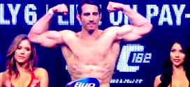 UFC 178: Tim Kennedy complains to Yoel Romero back stage *Video*