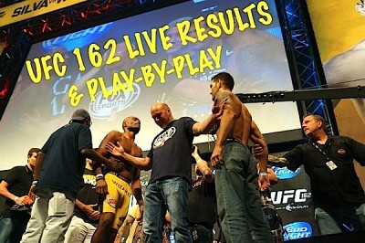 ufc 162 live results