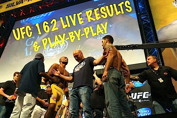 UFC 162 LIVE results and play-by-play
