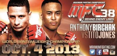 Birchak vs Jones MFC Bantamweight MFC World Championship