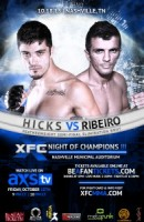 XFC26 Hicks Ribeiro