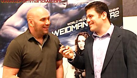 Interview: Dana White talks Weidman vs. Silva rematch, Jones vs. Gustafsson, TUF 18, more *VIDEO*