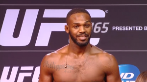 UFC light heavyweight champion Jon Jones