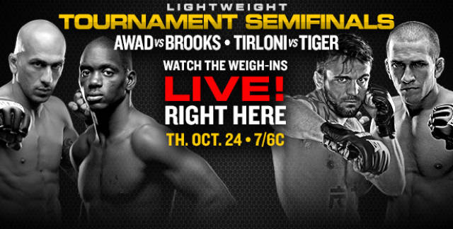 Watch Bellator 105 weigh-ins live on ProMMAnow.com at 6 p.m. ET / 5 CT