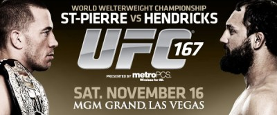 UFC 167 Banner