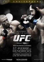 UFC 167 Poster