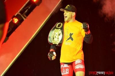 XFC lightweight champ Scott Holtzman. Photo by Jack Bratcher for ProMMAnow.com