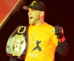 XFC lightweight champ Scott Holtzman. Photo by Jack Bratcher for ProMMAnow.com