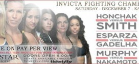 Video: Invicta FC 7 photo shoot and open workouts