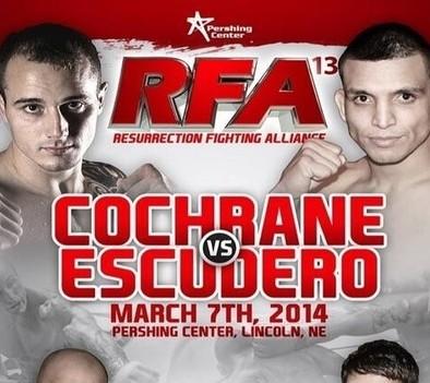 Resurrection Fighting Alliance returns to Nebraska for RFA 13