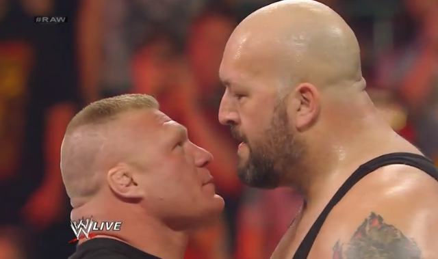 VIDEO: More bizarre usage of Lesnar by WWE at RAW