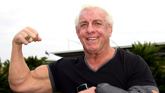 Ric Flair predicts odd match at 2017 Wrestlemania