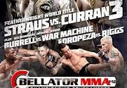 Bellator 112: Curran vs. Straus III full card