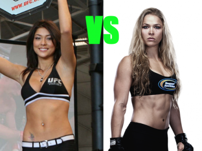 UFC ring girl Arianny Celeste says Ronda Rousey not a good role model for women