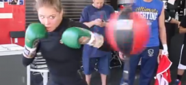Ronda Rousey UFC 170 open workout | Full Video