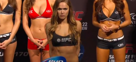 Ronda Rousey isn't running from a fight with Cris Cyborg?