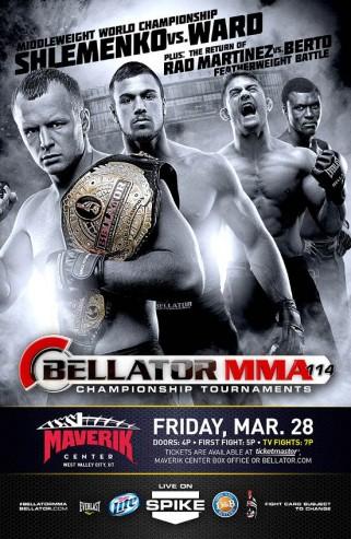 Watch Bellator 114 prelims live on ProMMAnow.com starting at 7 p.m. ET