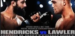 The UFC 171: Hendricks vs. Lawler full card