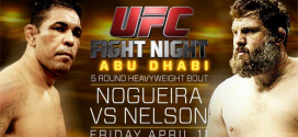 Three huge questions heading into UFC Fight Night 39: Nogueira vs. Nelson