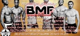 BMF Invitational fight results
