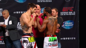 ufc 171-condit vs woodley