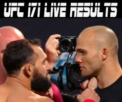 ufc 171 live results