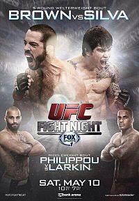 UFC Fight Night: Brown vs. Silva full card