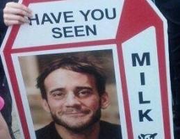 cm punk milk carton