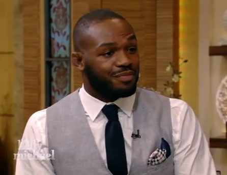 Jon Jones on LIVE with Kelly and Michael | VIDEO