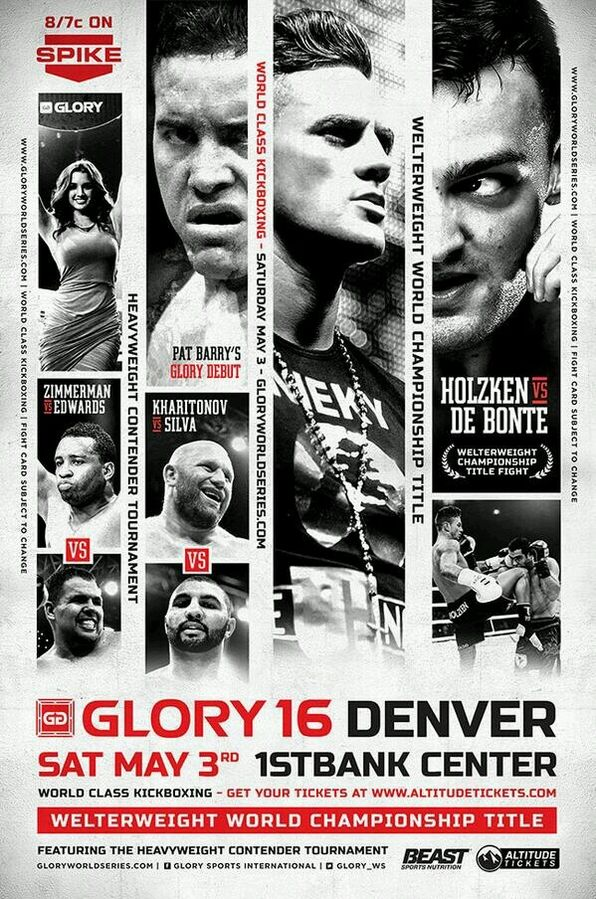Glory 16 LIVE results