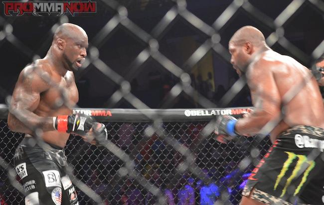 King Mo and Rampage at Bellator 120 / Photo by Lillian Higgins
