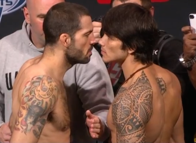 matt brown vs erick silva_ufn40