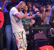 Michael Page dancing his way to the cage