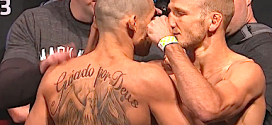 Watch the beatdown TJ Dillashaw put on Renan Barao to retain his UFC bantamweight title