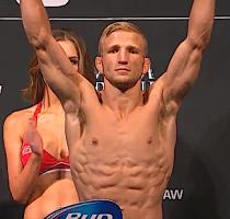 UFC bantamweight champion TJ Dillashaw