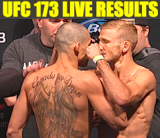 ufc 173 live results