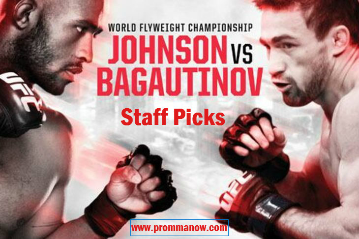ProMMANow.com UFC 174 staff picks