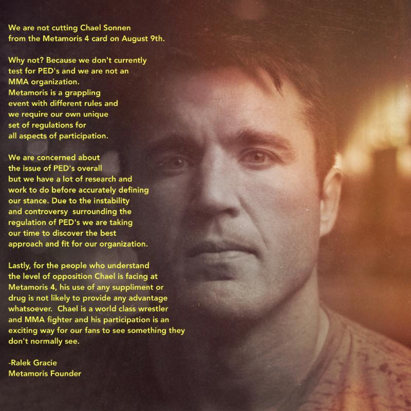 metamoris statement sonnen