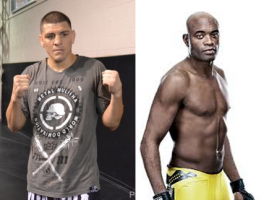 nick diaz vs anderson silva