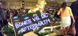 Jon Jones and Daniel Cormier wreck site of press conference today