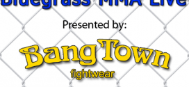 Podcast: BluegrassMMA Live airs live at 9 p.m. ET tonight