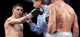 Vic Drakulich gets fed up, waves off Rios-Chaves fight in the 9th round