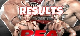 RFA 17 LIVE results and play by play