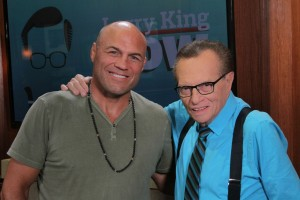 Randy Couture Larry King