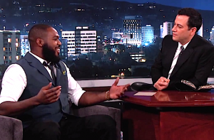 jon jones-jimmy kimmel