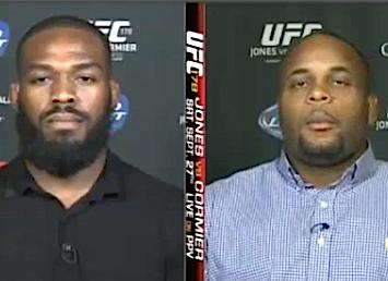 Troll Job: 'Fake' Jon Jones and Daniel Cormier discuss UFC 178 press conference brawl on SportsCenter | VIDEO