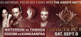 Watch Invicta FC 8 weigh-ins LIVE on ProMMANow.com at 5 p.m. ET