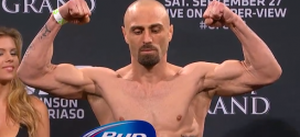 Pic: UFC 178′s Manny Gamburyan looks like a different person at bantamweight