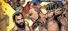 Check out UFC 181 event poster from DC Comics